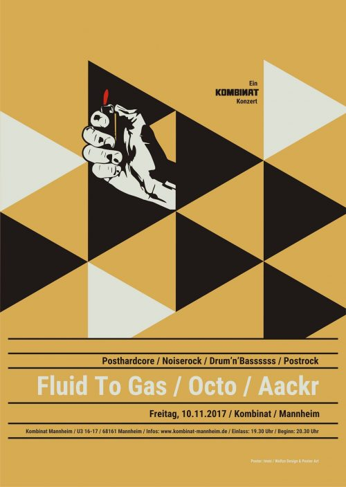 Fluid to Gas + Octo + Aackr